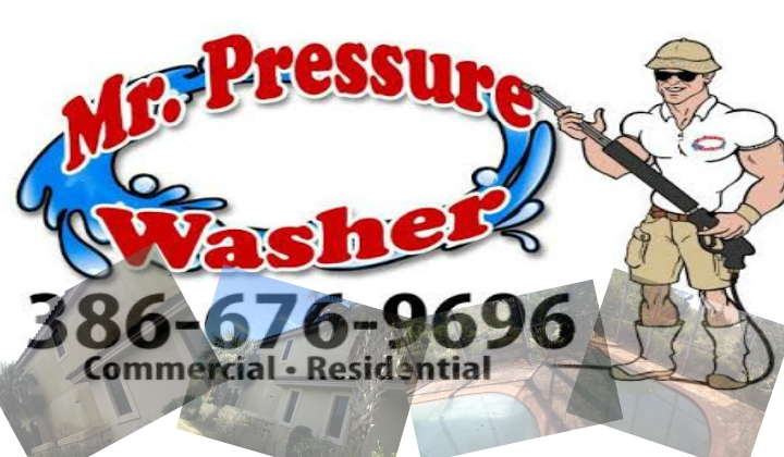 Mr Pressure Washser we are here to service the Valusia County, Florida area for more information visit our website @ http://MrPressureWasher.Com or call 386-676-9696