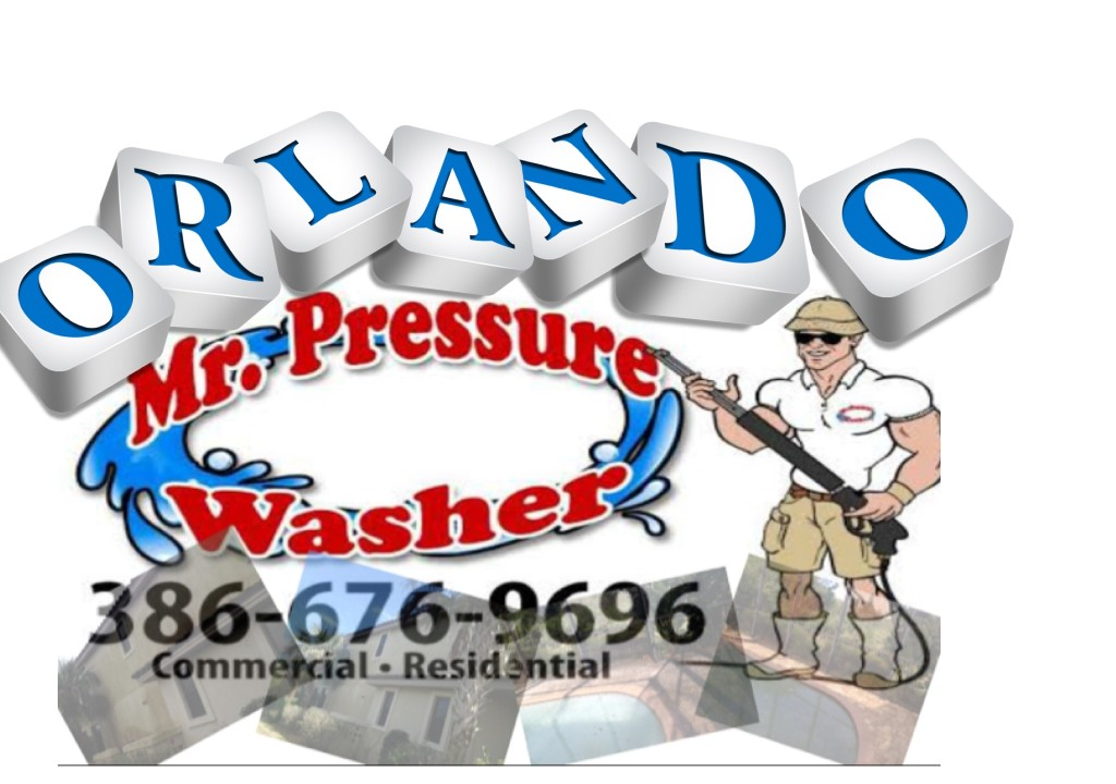 "Mr Pressure Washer ""Orlando Pressure Cleaning"" 386-676-9696"